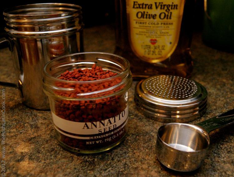 Achiote Ingredients