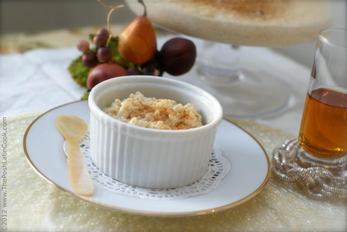 Elena's Spiced Rice Pudding